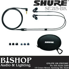 Shure In Ear Sound Isolating Pro Ear Phones - SE215-BK (black)