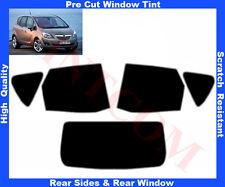 Pellicola Oscurante Vetri Auto Pre-Tagliata Opel Meriva 5P 2010-... da 5% a 50%
