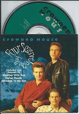 CROWDED HOUSE - Four seasons in one day CD SINGLE 4TR CARDSLEEVE UK RARE!!