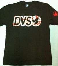 New DVS Shoe Company shirt Medium black camiseta skate DEVIOUS Real Almost LUXE