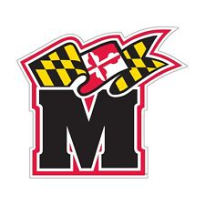 UNIVERSITY OF MARYLAND Terrapins SUPER Size Flag Decal