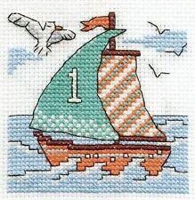 Sail A Boat Cross Stitch Kit - Make A Wish - DMC