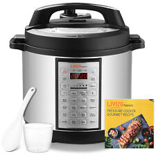 6 Qts Pressure Cooker, 18-in-1 Multi-Use Programmable Rice cooker