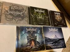 BORKNAGAR CD ALBUM LOT SET TRUE NORTH WINTER THRICE UNIVERSAL URD ORIGIN COLLECT