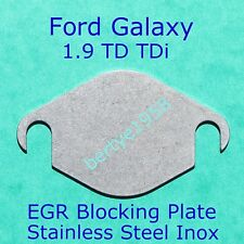 EGR Valve Blanking Plate FORD Galaxy SEAT Alhambra VW Sharan 1.9 TDi 2mm Block