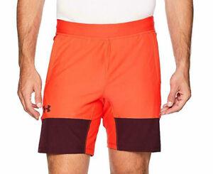 Under Armour Men's Radio Red/Dark Maroon UA Vanish Fitted Athletic Shorts