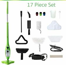 H2O Mop X5 Elite Mop 5 in 1 All-Purpose Hand-Held Steam Cleaner for Home Use, wi