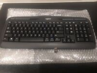 BRAND NEW--Logitech Wireless MK320 Keyboard (ONLY) w/Nano Unifying Receiver