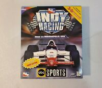 Indy Racing Road To The Indianapolis 500 PC CD-ROM - Big Box - Complete - RARE!!