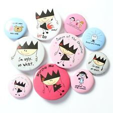 Wholesale Badges Official David & Goliath & Wendy L'Belle Mix of 10