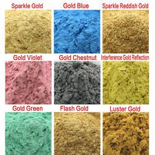 10g Gold Type Cosmetic Grade Natural Mica Powder Pigment Soap Candle Colorant