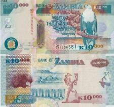 Zambia 2011 Ten Thousand 10000 Kwacha UNC