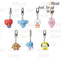 Official BTS BT21 Baby Figure Keyring Keychain+Freebie+Tracking Authentic MD