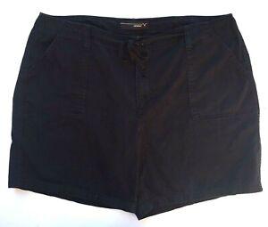 Venezia Women's size 18 Casual Shorts Black 40 x 8