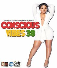 CONSCIOUS VIBES VOL 38 REGGAE ROOTS CULTURE LOVERS ROCK MIX CD