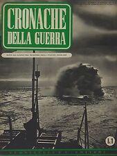 CRONACHE DELLA GUERRA (MINCULPOP)-11 FASCICOLI-OTT/DIC 1939 ROMA TUMMINELLI & C.