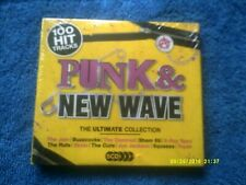 PUNK & NEW WAVE THE ULTIMATE COLLECTION 5CD NEW/SEALED