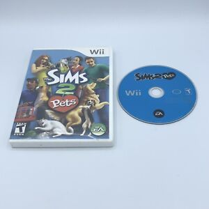 The Sims 2: Pets (Nintendo Wii, 2007) No Manual