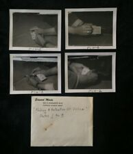 4 Original Ed Marlo Photographs Retention Of Vision + Original Envelope Magic
