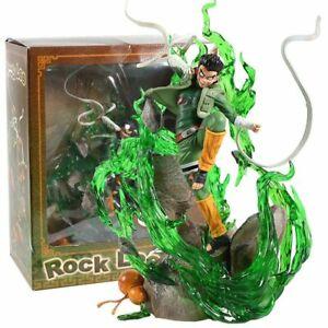 Rock Lee Figurine Model Toy Naruto Shippuden Figure Ninja Shinobi Doll PVC