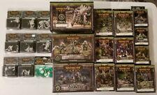 Warmachine Cryx Huge Lot: Battleboxes, Kraken, Deathjack, Bane Knights + More!