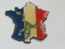 French Flag Frog Pin (#5)