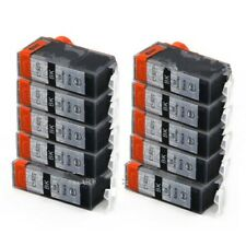10X Black Non-OEM Ink Cartridges PGI525 for Canon MG5250 MG6100 MG6150