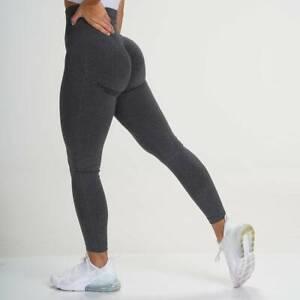 Women AntiCellulite Leggings Yoga Pants Seamless Fitness High Waist Butt Push Up