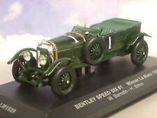 IXO 1/43 BENTLEY SPEED SIX 6 #1 WINNER 1ST LE MANS 1929 BARNATO & BIRKIN LM1929