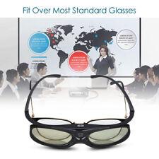 3D Active Shutter Glasses DLP-Link 96/144Hz Theater Black For BenQ Dell Acer