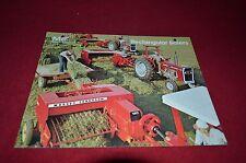 Massey Ferguson 120 124 126 128 130 Baler Dealer's Brochure Dcpa