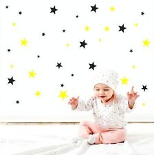 Stars Wall Stickers Big Set of 34  Home Art Decor Kids Bedroom