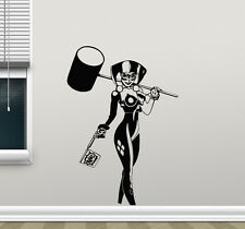 Harley Quinn Wall Decal Superhero Comics Vinyl Sticker Girl Decor Poster 200zzz