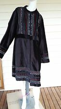 Orientique Size 20 Black Long Coat With Tags