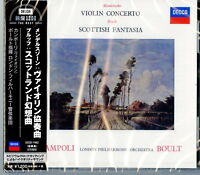 ALFREDO CAMPOLI-MENDELSSOHN: VIOLIN CONCERTO / BRUCH: SCOTTISH...-JAPAN CD C15