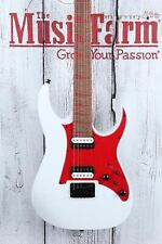 Ibanez RG431HPDX High Performance Solid Body Electric Guitar White Flat Finish