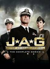 JAG ~ Complete Series Season 1-10 (1 2 3 4 5 6 7 8 9 & 10) ~ NEW 55-DISC DVD SET