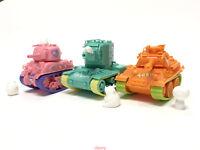 Meng 2019 WWP-002s M4A1 Sherman (Cat Character) World-War Toons Pink Model Cute