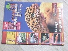 $$ Revue Reptil mag N°28 gecko leopard  eclairage  Chelonoidis carbonaria