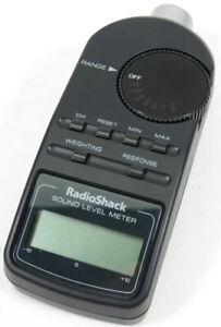 Radio Shack 33-2055 Digital Sound Level Meter