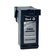 1 Pack Black CB336WN 74-XL For HP 74XL Ink Cartridge J6415 J6424 J6450 J6480