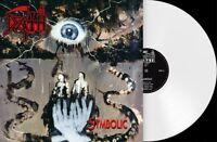 DEATH SYMBOLIC LP *RARE* WHITE VINYL 180g METAL BLADE REPRESS 2014 LIMITED New