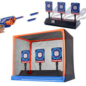 Auto-Reset Electric Scoring Target Light & Sound for Practice Shooting Toys AU ~