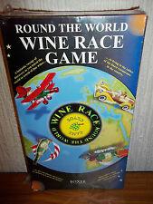 Alrededor del mundo juego de carreras de vino-al menos 3 botellas de vino CCNE-Nuevo y Sellado