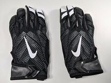 New! Nike Vapor Knit Black/White Wide Receiver Football Gloves LARGE PGF409