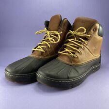 2010 Nike ACG Woodside Waterproof Size 10 Duck Boots  386469-200
