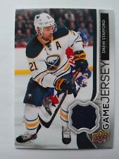 2014-15 Upper Deck Game Jersey Drew Stafford Buffalo Sabres - BLUE