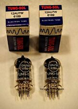 TUNG-SOL PAIR TWO 12AU7W 6189 12AU7  New Tested Tubes