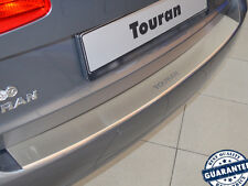 VW Touran II 2010-15 Rear Bumper Profiled Protector Stainless Steel Scuff Cover