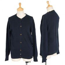 (SALE) COMME des GARCONS cotton cardigan Size About  S(K-17198)